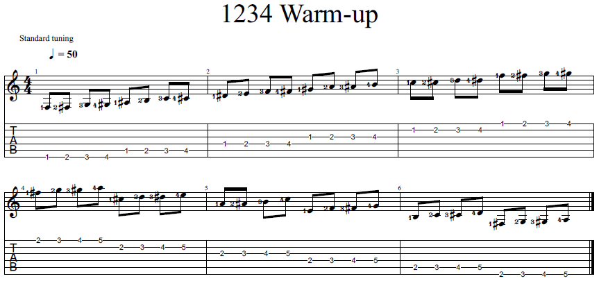 1234 Warm-up PNG
